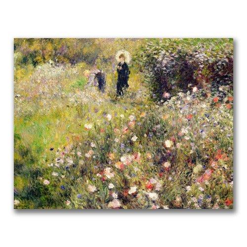 Summer Landscape by Pierre Renoir, 18×24-Inch Canvas Wall Art