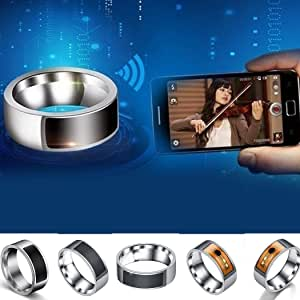 IEnkidu Stainless Steel Smart Ring Wearing Jewelry NFC Label Mobile Phone Accessory Rings