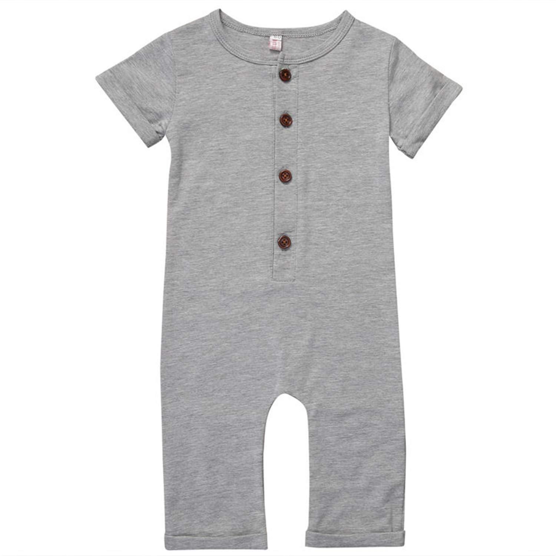 95fb7bf79e2e0 Amazon.com: Jinbaolong Sale Cotton Newborn Baby Boy Girl Romper ...