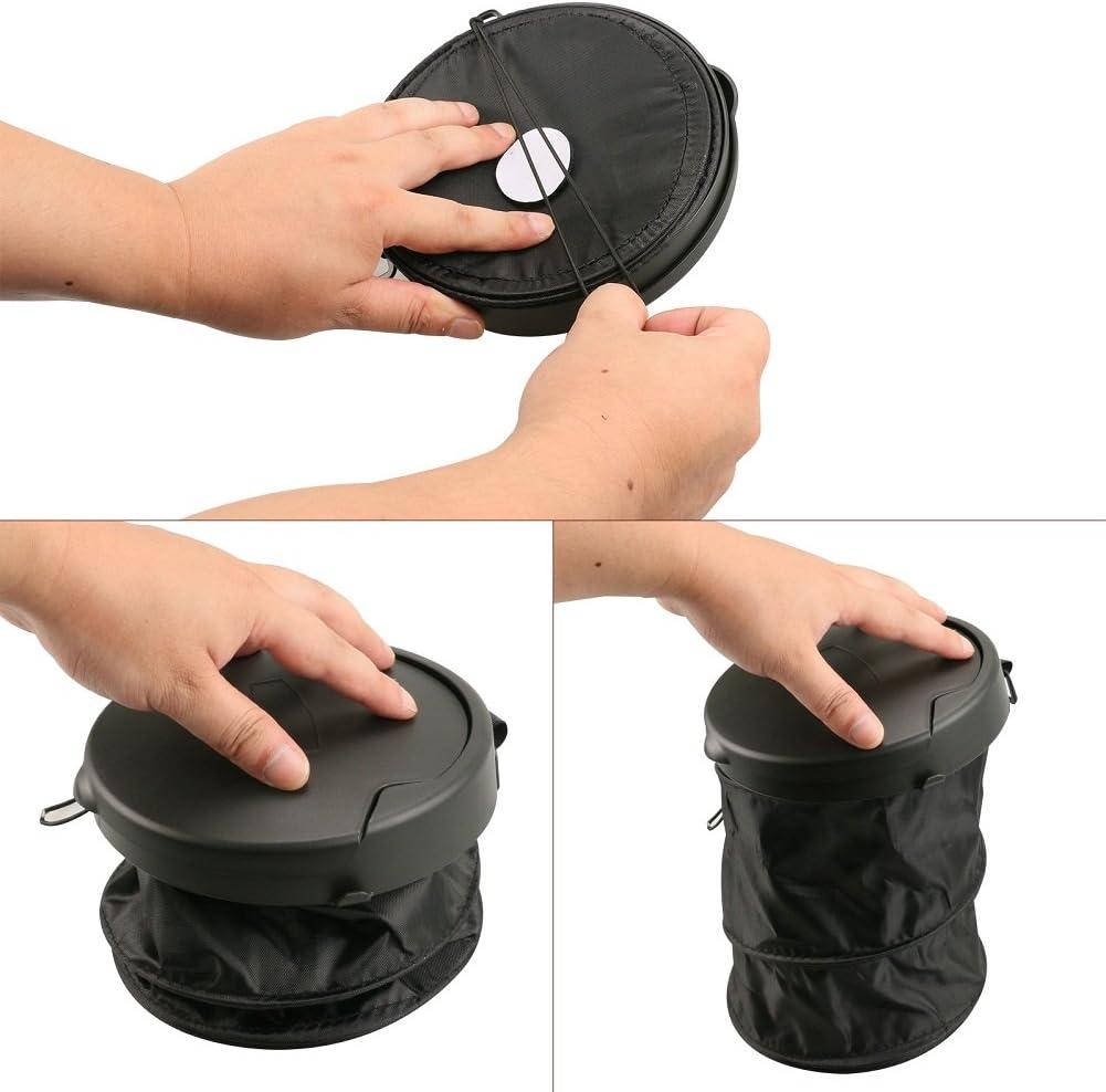 universelle avec housse VXCAN Mini poubelle de voiture pliable et portable /à suspendre