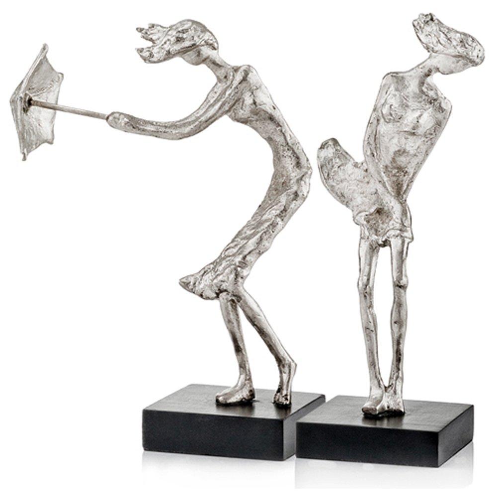 1着でも送料無料 Modern Rafaga Day Accents Rafaga De Viento ブラック Windy Viento Ladies Sculpture – 2のセット 1 ブラック 7733 B019SNR76Y ブラック 1, Rakuten BRAND AVENUE Men:7ca1743c --- arcego.dominiotemporario.com