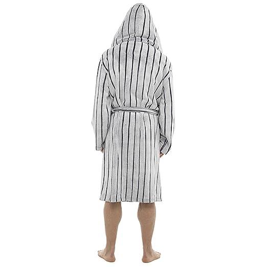 Alankara Men 100% Polyester Towelling Bathrobe Mens Bathrobes Lounge ...