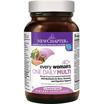 New Chapter Every Woman s One Daily 40+, Women s Multivitamin Fermented  with Probiotics + Vitamin de4f73ef2e6