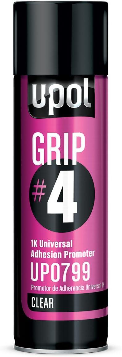 U-POL 0799 Grip#4 Universal Adhesion Promoter 450 ml Aerosol, 12 Fluid_Ounces