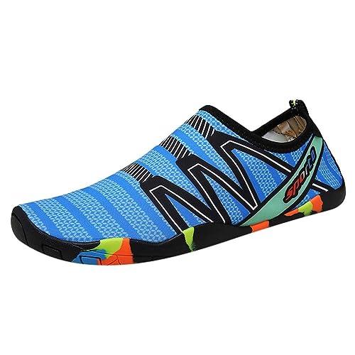 BHYDRY Zapatos de Verano para niños Zapatos de Buceo para niños Zapatos Planos Casuales para la Playa Zapatillas de Agua: Amazon.es: Zapatos y complementos