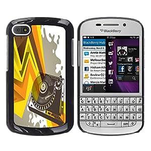 Dragon Case - FOR BlackBerry Q10 - you have to impress - Caja protectora de pl??stico duro de la cubierta Dise?¡Ào Slim Fit