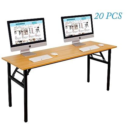 Escritorio grande plegable para computadora, escritorio para ...