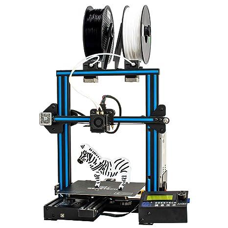 giantarm Geeetech Impresora 3D A10 M con impresión Multi-Couleurs ...