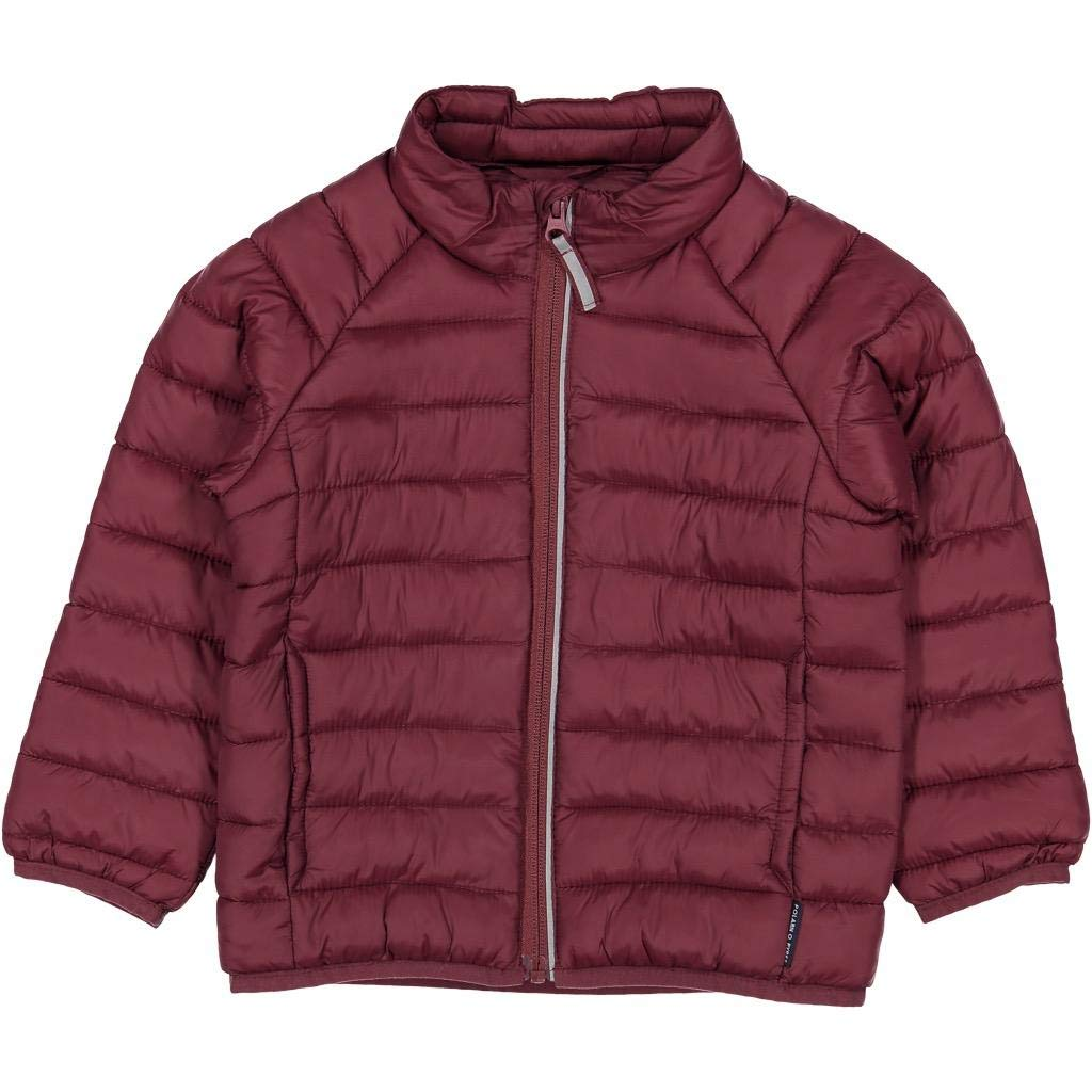 Polarn O. Pyret Lightweight Puffer Jacket (2-6YRS) - Tawny Port/2-3 Years