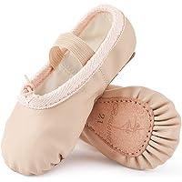 Zapatillas de Danza Cuero Zapatos de Ballet