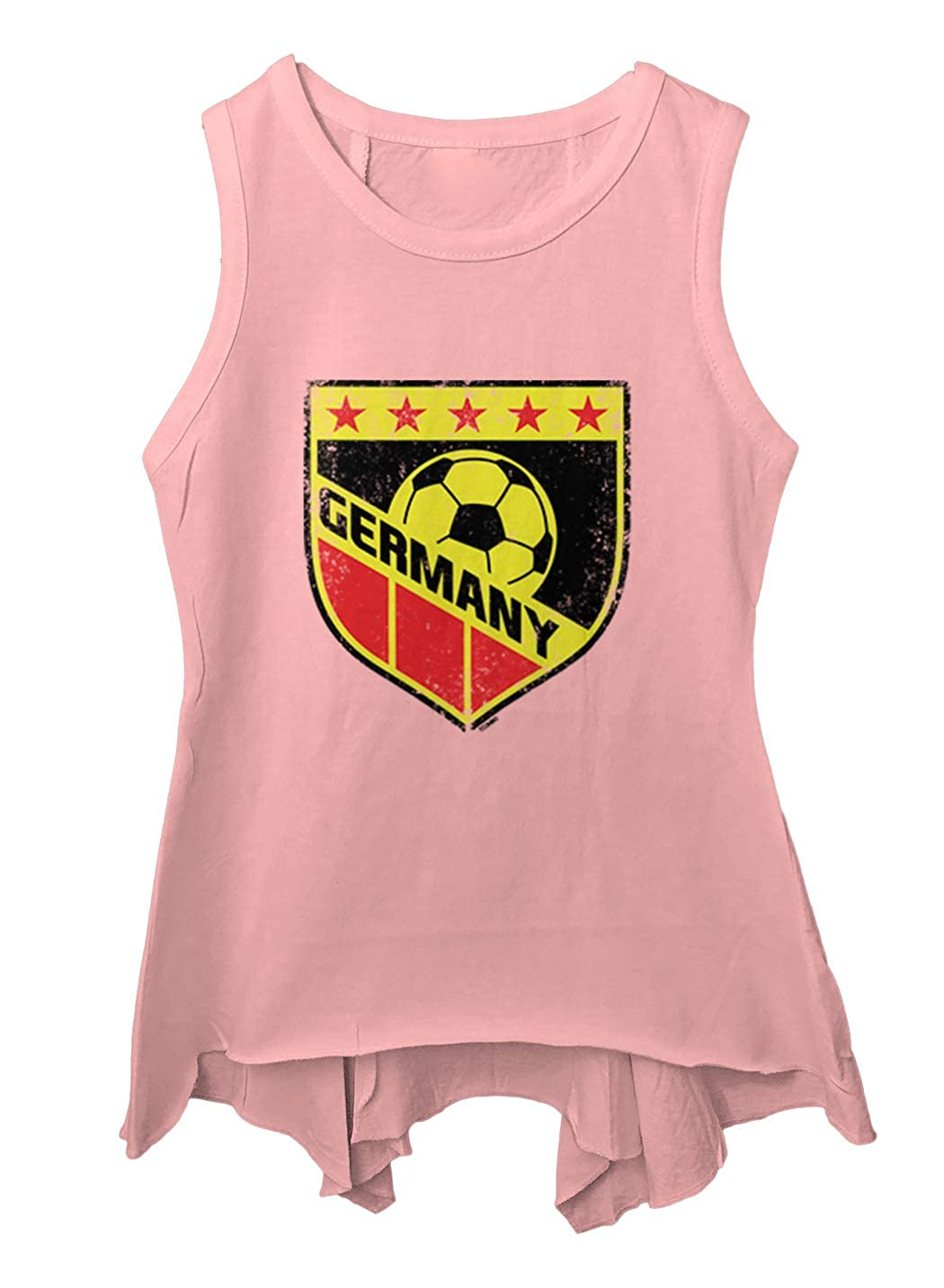 Tcombo Germany Soccer Distressed Badge Toddler//Youth Sleeveless Backswing