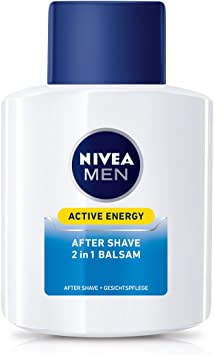 Nivea Men, 2 pack 2 en 1 Aftershave Bálsamo y cuidado facial para ...