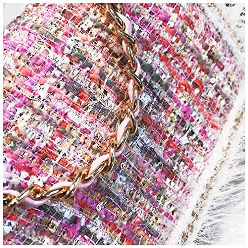 bandoulière Messenger Sacs Main à Femmes Pink à Pink 19cm10cm13cm Sacs Chaînes Sacs 8SddwgYq