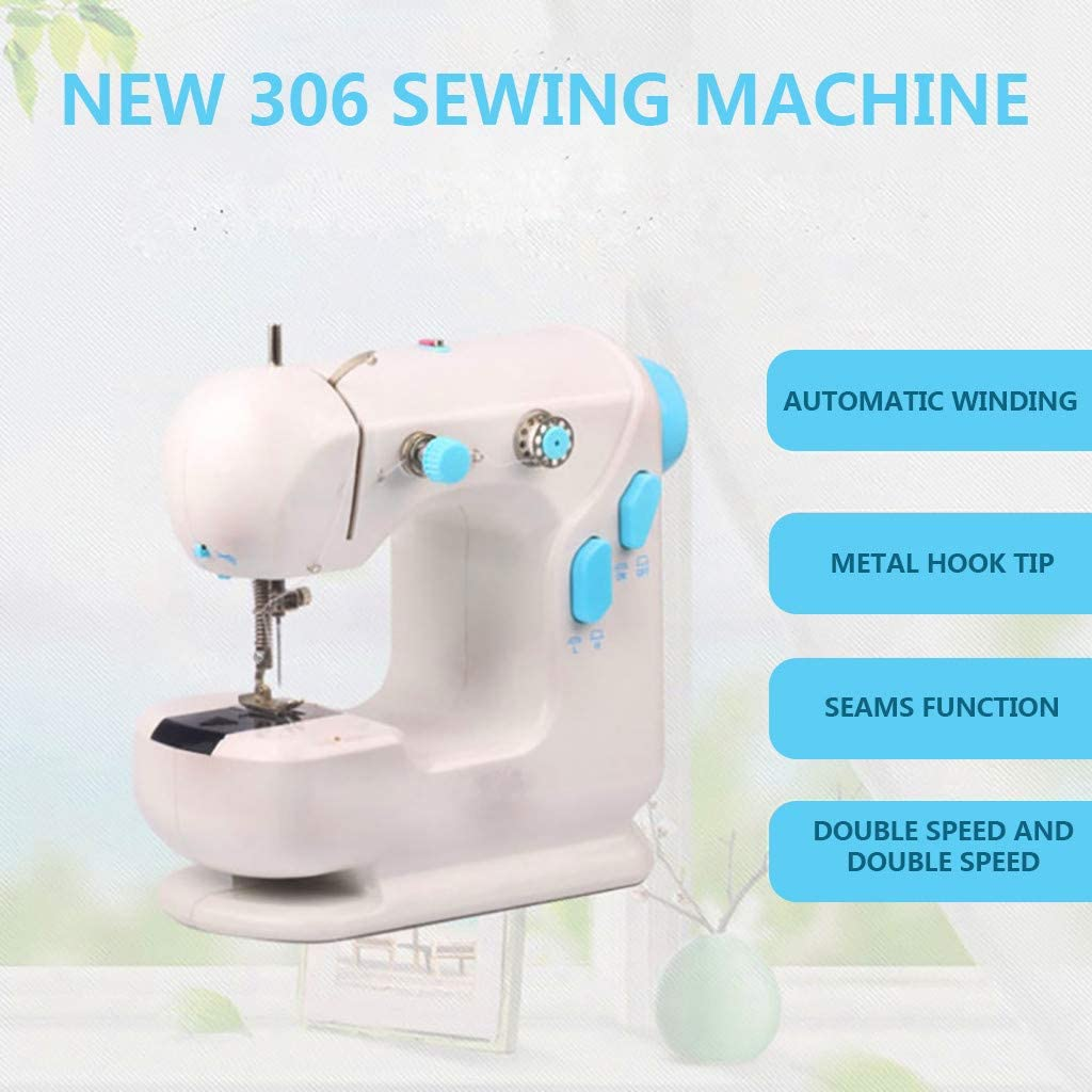 Free Arm Best Sewing Machine for Beginners Refill New Handheld Electric Sewing Machine with Extension Table
