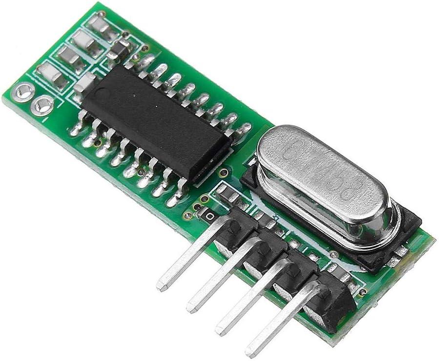 RX470 433Mhz RF Wireless Remote Control Receiver Module WL102 433MHz Wireless Remote Control Transmitter Module Development Boards /& Kits
