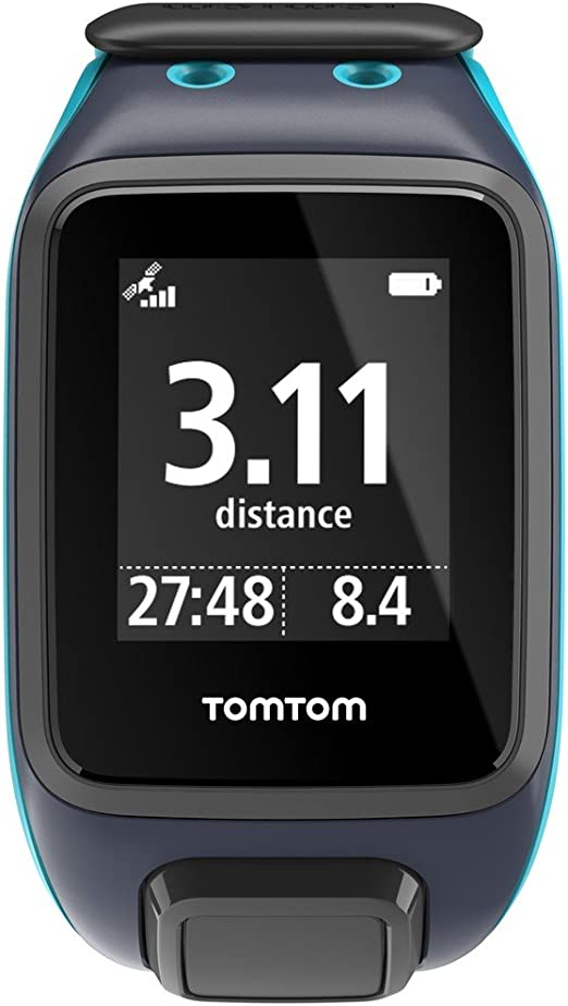 TomTom Runner2 Music- Reloj deportivo con música, color turquesa ...