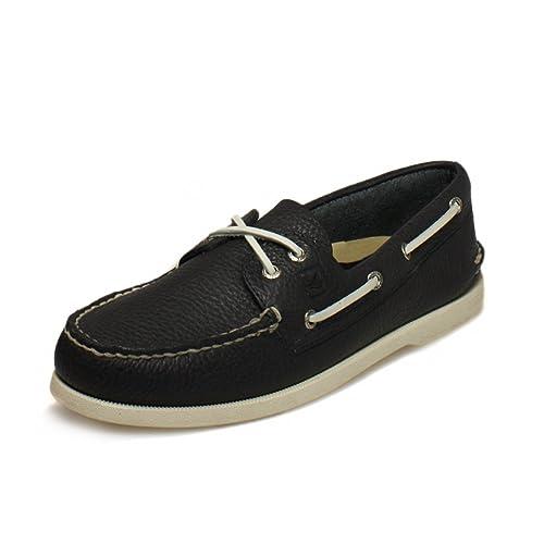 8d233c7d0a0 Sperry Top-Sider - Náuticos de cuero para hombre azul azul marino, color  azul, talla 42.5: Amazon.es: Zapatos y complementos