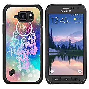 Dragon Case - FOR Samsung Galaxy S6 active/G870A/G890A (Not Fit S6) - All things are difficult - Caja protectora de pl??stico duro de la cubierta Dise?¡Ào Slim Fit