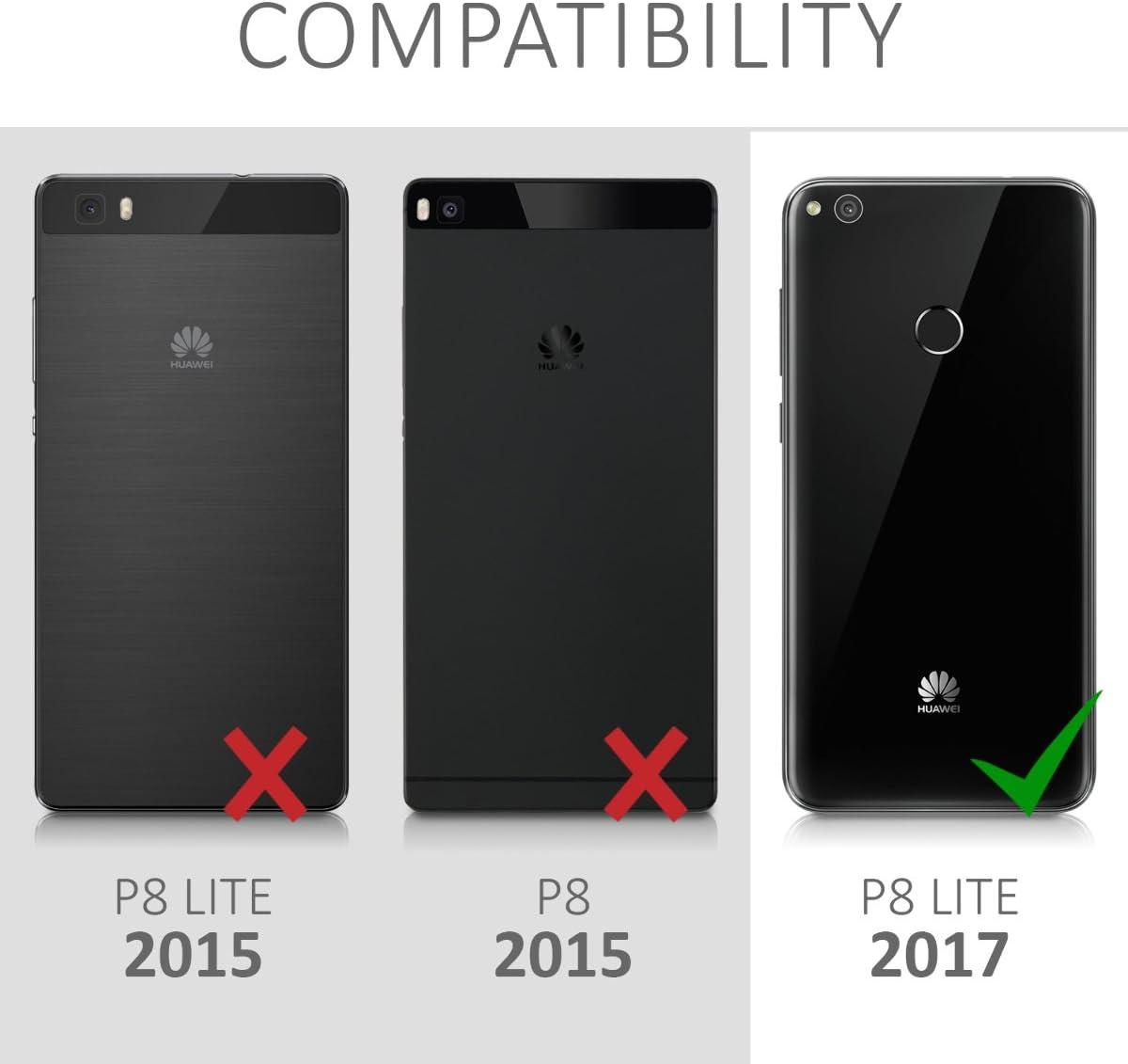 kwmobile Funda Compatible con Huawei P8 Lite (2017): Amazon.es ...