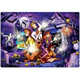 Buffalo Games Build & Explore Kid's Jigsaw Scooby Doo with Glow in The Dark Puzzle (48 Pieces)