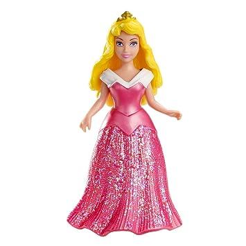 Disney Princesas Muñeca, miniprincesa Bella durmiente (Mattel X9415)