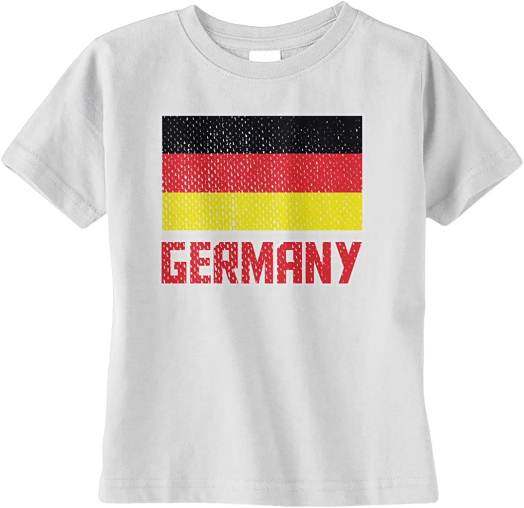 Threadrock Unisex Baby Flag of Germany Infant T-Shirt