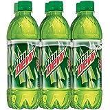 Mountain Dew Regular, 6 Count, 16.9 fl oz Bottles