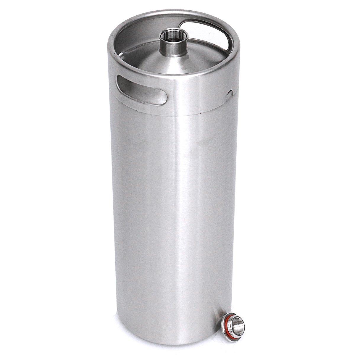 Stainless Steel Brew Barrel, SENREAL 10L Stainless Steel Cast Growler Barrel Beer Wine Making Tools Accessories by SENREAL (Image #4)