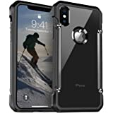 iPhone X Case, [Full Protection] Ztotop Shockproof Bumper Hard Case with QNMP Compatible for Apple iPhone 10 / iPhone X 2017 Release,Black
