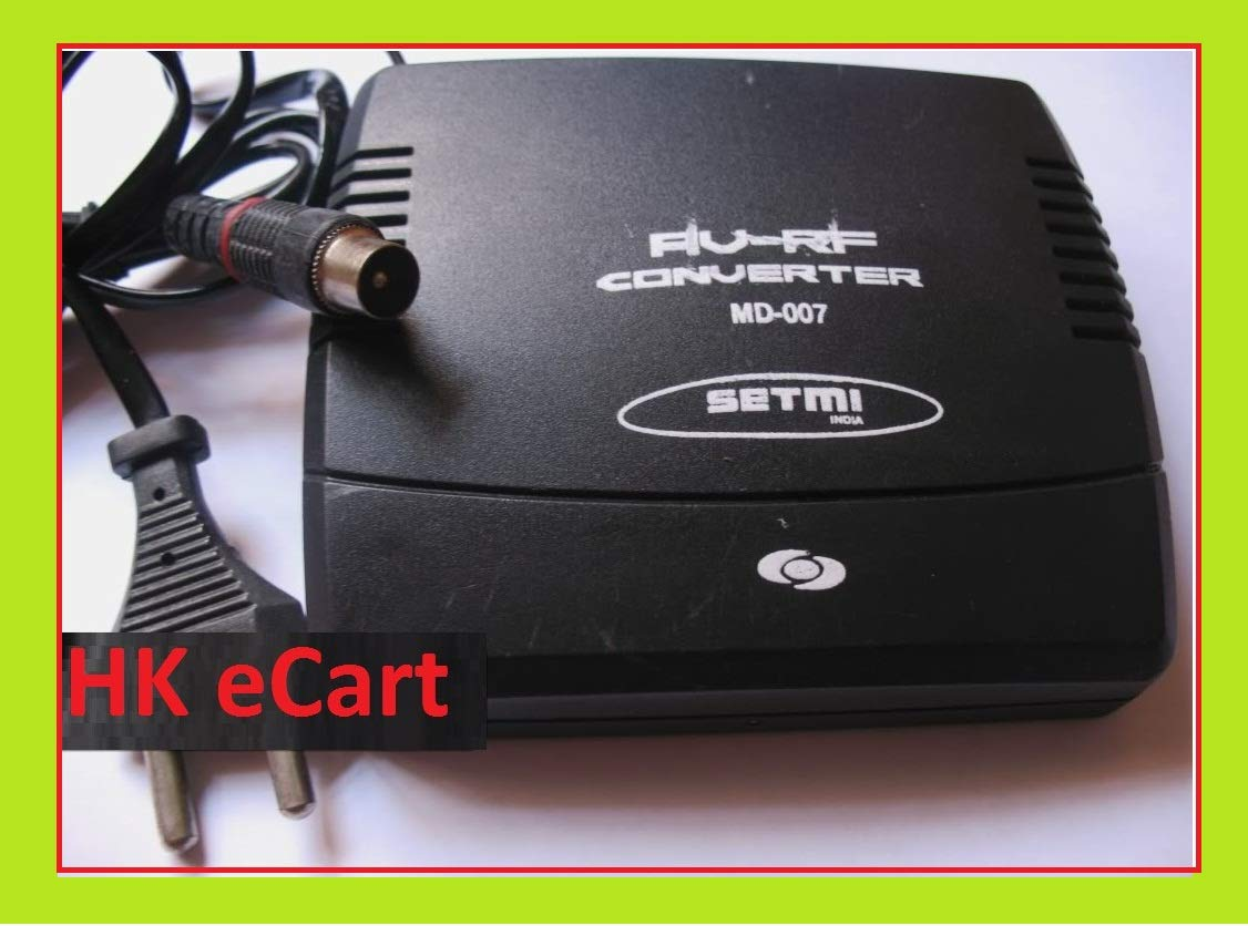 345032928 Buy HKeCart AV to RF Converter Adapter Connect Set Top Box DVD Tata Sky  Airtel Dish to Old TV SYS Online at Low Prices in India - Amazon.in