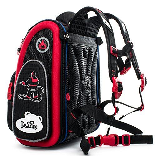 Delune Kids Backpack for Boys and Girls Primary Schoolbag - Individual/Waterproof/Orthopedic/Noble