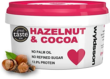Hazelnut Cocoa Nut Butter 500g No Palm Oil No Added Sugar Dairy Free Vegan Chocolate Spread Great Taste Award