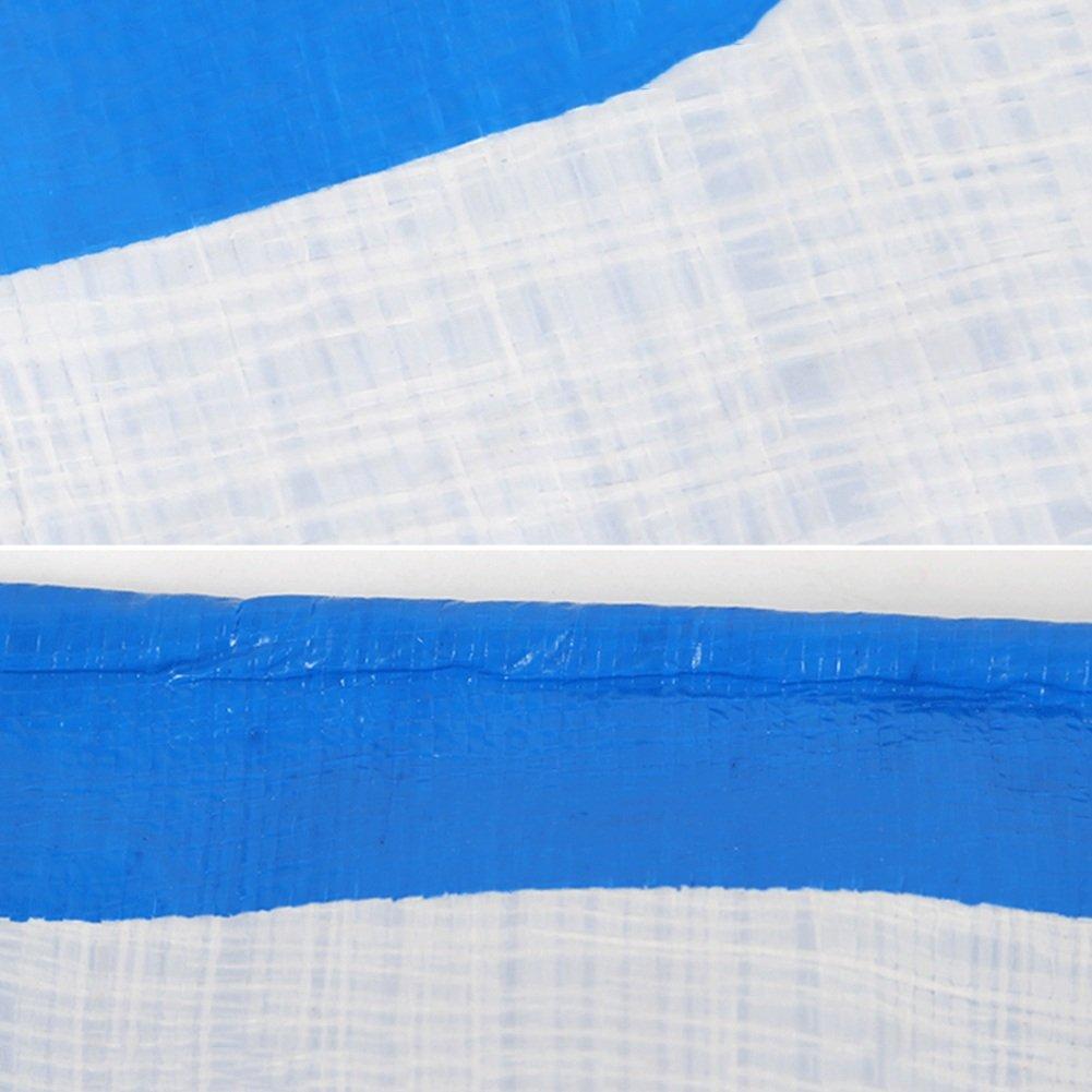 AJZXHE blau Plane Gepolsterter Wasserdichter Poncho-kampierender Mattenautoplanen-Lichtschutz Anti-Corrosion, blau AJZXHE -Plane c1fc85