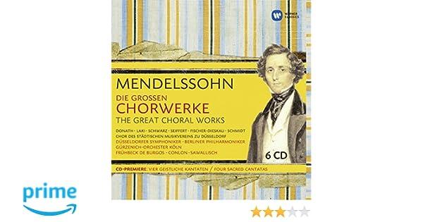 B.F. Mendelssohn, James Conlon, Rafael Frühbeck De Burgos - Felix ...