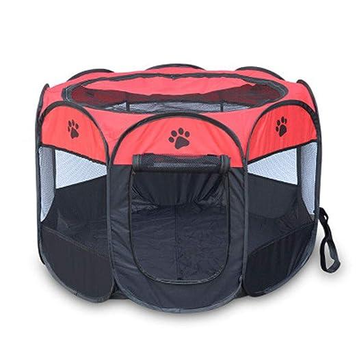 Embarazo portátil Mascota Tienda de perros Casa Jaula Jaula ...