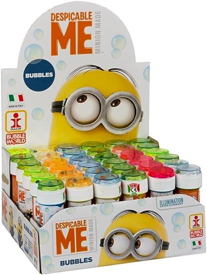 ColorBaby - Caja pomperos Minions con 36 Unidades de 60 ml (24260): Amazon.es: Juguetes y juegos