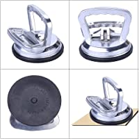 DIY Crafts Aluminum Suction Cup Handle Lifter – Dent Remover Glass Lifting Industrial Hardware Suction Cup Dent Puller Handle Lifter Suction Cup Lifter/Glass Puller Dent Remover Glass Lifting 50 Kg Capacity 1 x (1)