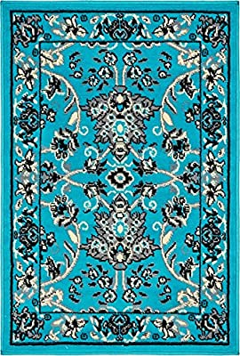 Traditional Kashan Design Area Rug