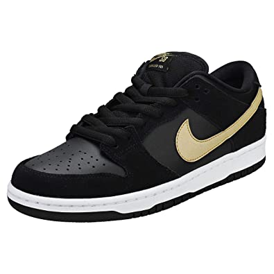 0defc02e295e Image Unavailable. Image not available for. Color  NIKE SB Dunk Low Pro Takashi  Black Metallic Gold ...