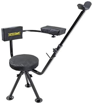 blind swivel redneck products hunting chair portable blinds