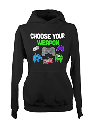 Choose Your Weapon Game Gamer Controller Console Video Games Women s ... fd2415419a