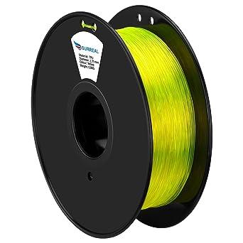 Surreal - Filamento flexible de TPU para impresora 3D, 1,75 mm ...