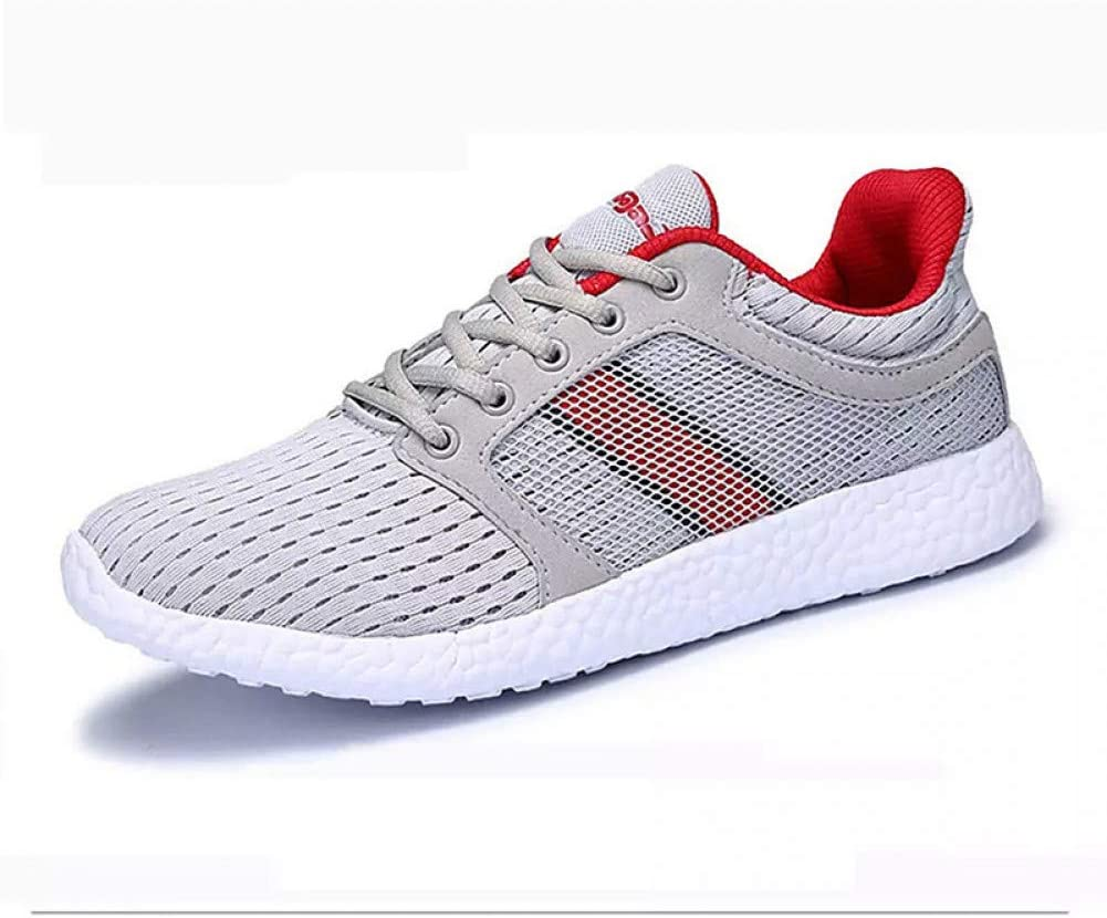 Zapatillas de deporte Zapatillas de Confort Para Hombres Malla / Tela Elástica Muelle deportivo Zapatillas deportivas Zapatillas de Running Bloque de Color Antideslizante Negro / Gris Oscuro / Gris Claro: Amazon.es: Deportes