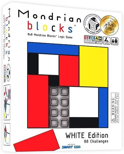 White Edition Parents' Choice Award Winner Mondrian Blocks - Brain ...