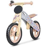 CASPER Draisienne vélo en bois sans pédale de 3 à 6 ans