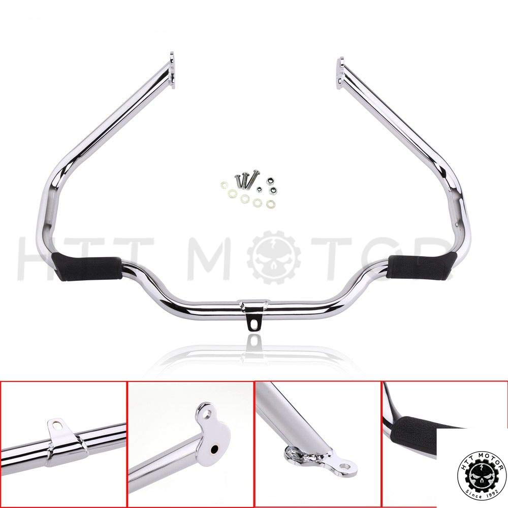 HTTMT- Replacement of Chrome Engine Guard Crash Bar For Harley Touring 2009-2017(Aftermarket 49155-09A)