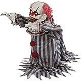 "Mario Chiodo 18"" Jumping Clown Animated Prop W/Creepy Laugh Halloween Decoration Prop Dcor"