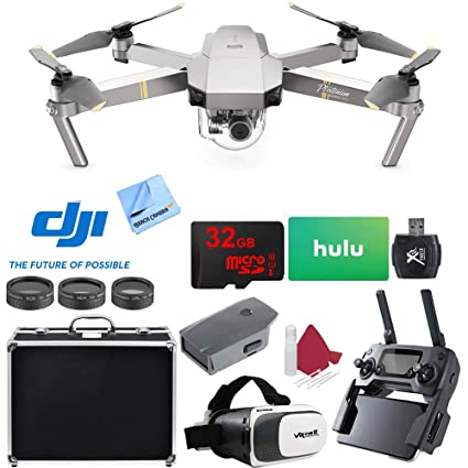 c44eaa298f2 Amazon.com: DJI Mavic Pro Platinum Quadcopter Drone with 4K Camera and Wi-Fi  Super Pack: Toys & Games