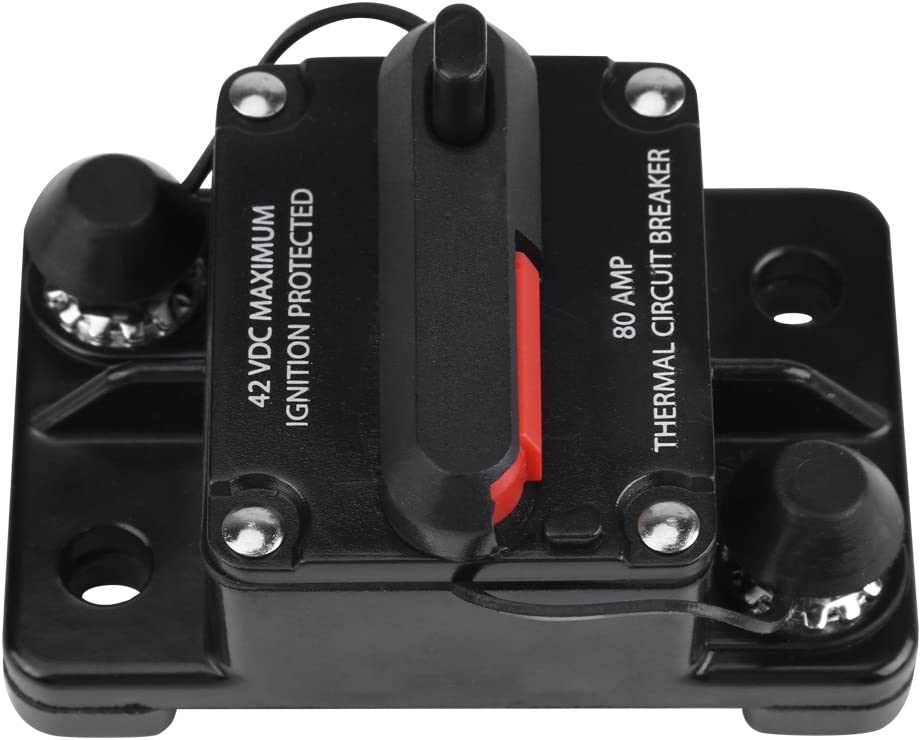 200A Optional Car Audio Circuit Breaker 50A,80A,100A,150A,200A ...
