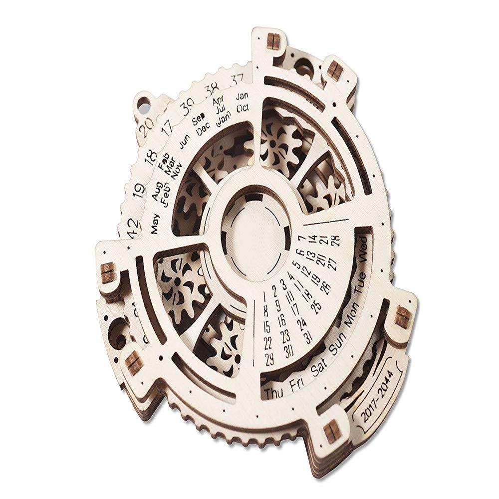 Lovinn 3D Mechanisches Navigator Modell Datum Navigator Mechanisches Bau Holz Puzzle DIY Kreatives Spielzeug Geburtstag Geschenk 5869e7